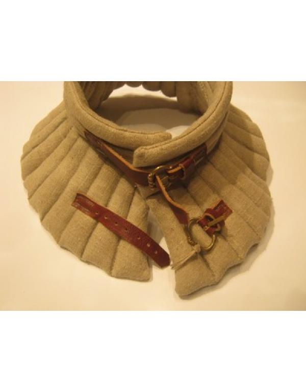 Gevoerde kraag, linnen-145