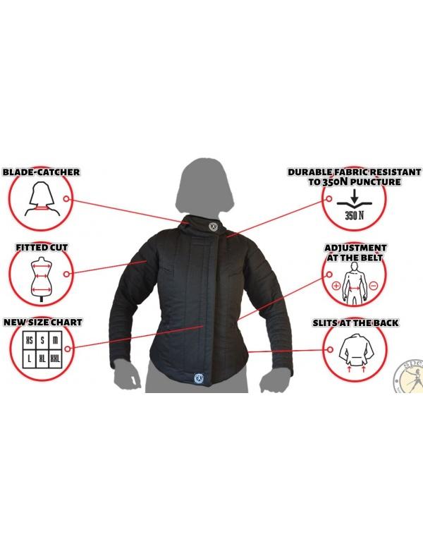 """""""AP"""" Fencing jacket women 350N-761"""