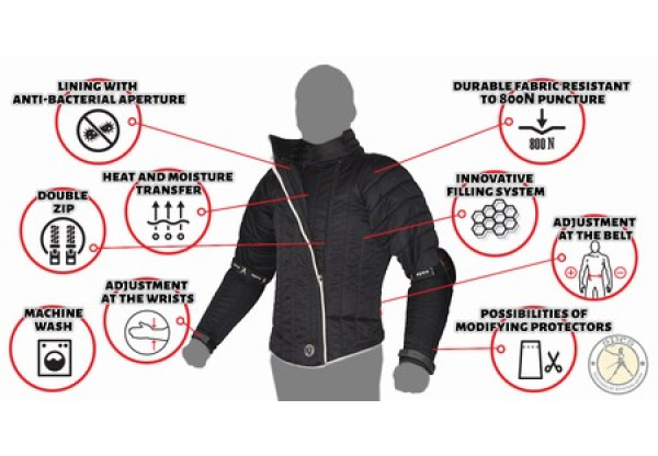Hussar fencing jacket 800N-0