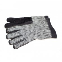 Chainmail gloves, galvanised-0