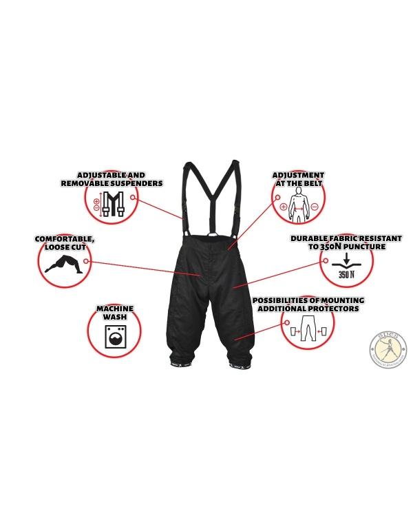 Light fencing pants-1371