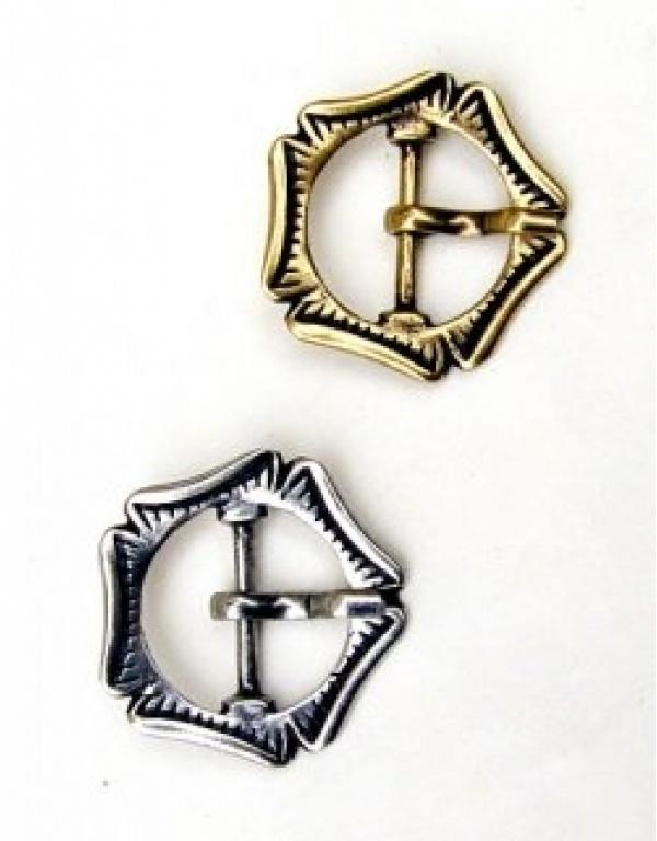 middeleeuwse dubbele gesp 86-09MA-1673