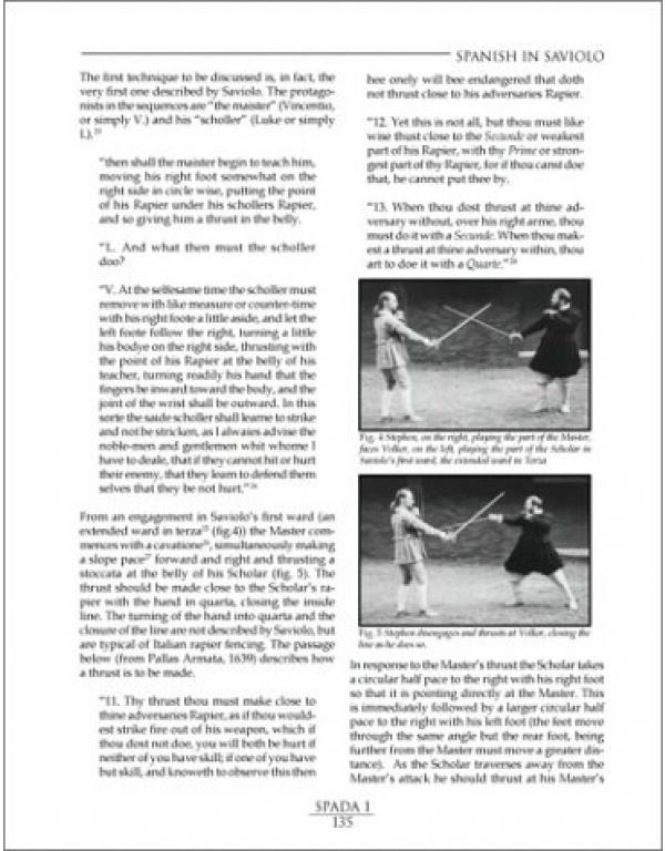 SPADA: An Anthology of Swordsmanship-1994