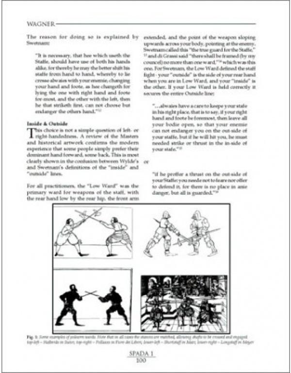 SPADA: An Anthology of Swordsmanship-1989