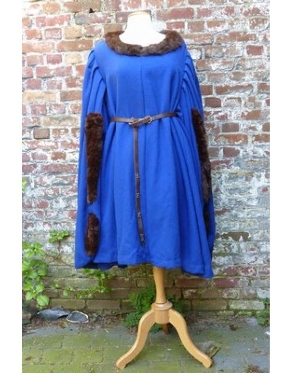 Robe met bont H3-1749