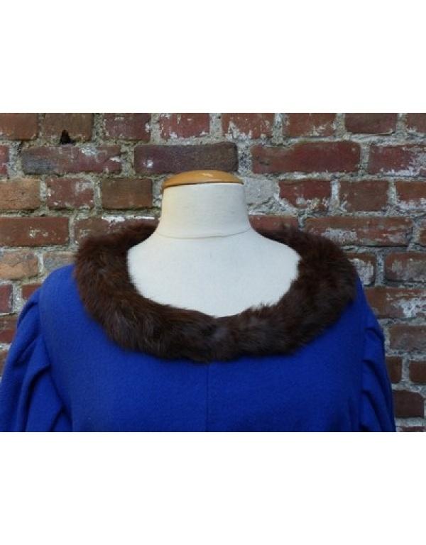 Robe met bont H3-1757