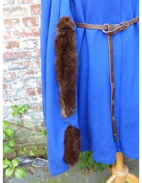 Robe met bont H3-1752