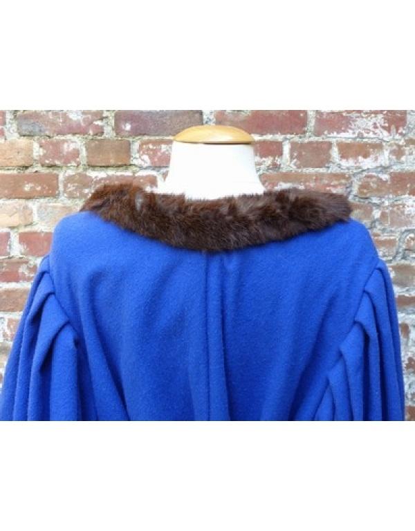 Robe met bont H3-1751