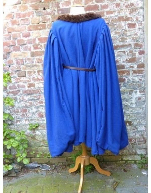 Robe met bont H3-1753