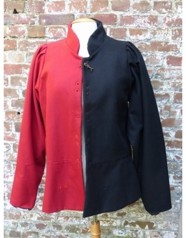 doublet zwart/rood-1776