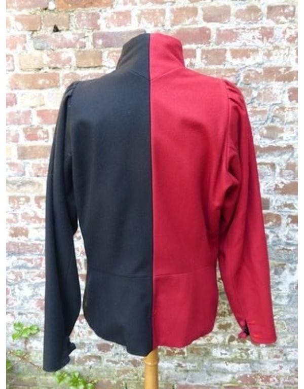 doublet zwart/rood-1775