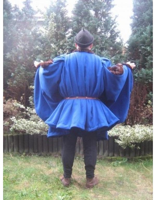 Robe met bont H3-0
