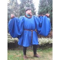 Robe met bont H3-1755